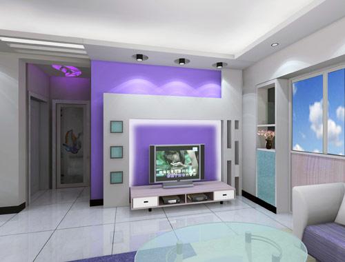 绝美电视背景墙设计 装修图库 咨询频道 上海团购网 中国最大的家居建
