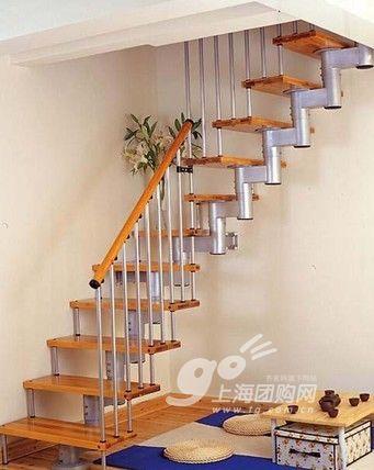 楼梯的款式和材质如何选?图片