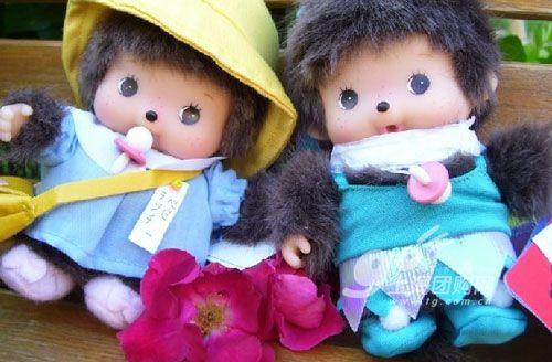 (蒙奇奇),1974年诞生于一家日本毛绒玩具制造商