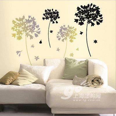 创意手绘墙 妆点多姿多彩墙面风光(3)