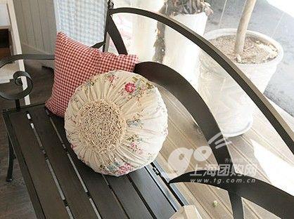 5款自制俏皮可爱抱枕 打造梦幻韩式田园家