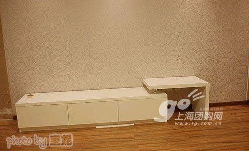 电视柜是自己画好图和尺寸让工人做的 优美居家居折扣店图片