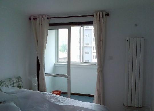 竹地板配窗帘客厅窗帘沙发颜色搭配图片12