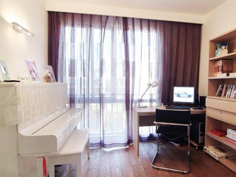 129平白色原木 現代簡約風三室兩廳