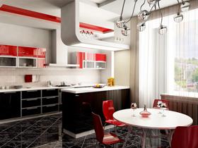 紅色的激情別墅 150平豪宅體驗