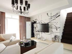 當藝術遇到簡約 DIY牛人公寓設計