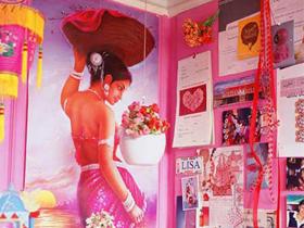 10万装修超艳丽的印度混搭美人世家