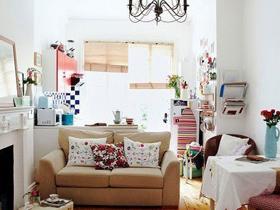 纯白墙木作家具 温馨充实小清新
