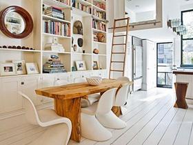 原木元素公寓 美式风格复式家