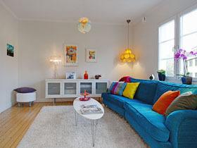 两套纯白家装 复式淡雅小公寓