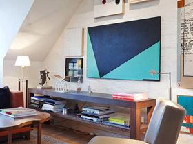 挑高小户型开放式设计 瑞典暖色公寓