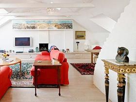 黑白时尚空间 103平装修百变混搭炫丽之家