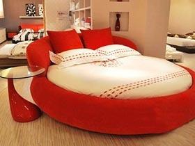 力推10款特色圆床 打造浪漫温馨卧室