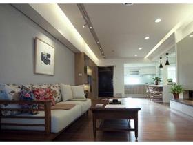 115平现代中式居 华丽2室2厅的儒雅气质