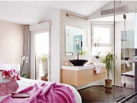 开放式巧隔断 112平西班牙复式小公寓