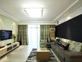 98平简约三居室 婚房实用家装