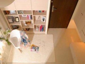 40平单身女性唯美小屋 白色简约一居室