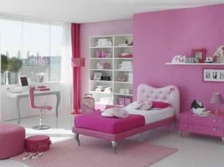 娇嫩粉色调卧室 打造甜蜜闺房