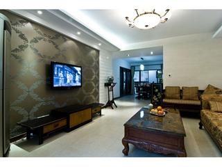 130平方公寓婚房 打造特色中式设计