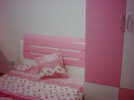 83平米硬裝完工照 曬曬粉嫩兒童房