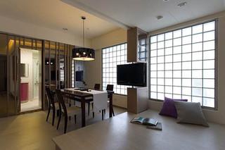 紫色诱惑 轻松随意高贵优雅二居室
