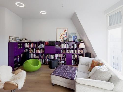 百變小公寓 不羈的色彩打造活力公寓