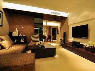 欧式低调奢华 经典两室两厅装修案例