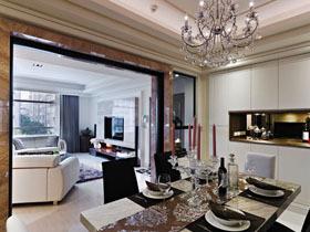老房翻新 120平新古典雅致二居室