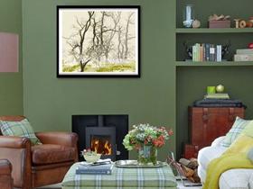 温暖客厅布置 款款欧美风格