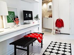 28个北欧风小户型家庭工作室书桌设计