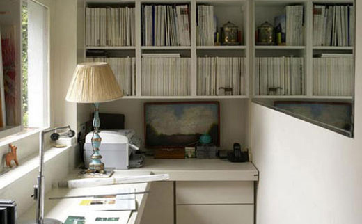 精致设计 壁橱变身功能书房