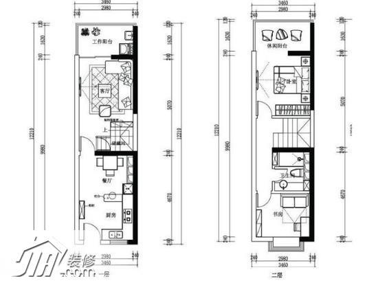 超值明星范儿 6万简约风单身复式公寓(全文)