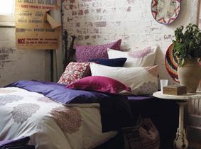 19款卧室床品 大胆用色灵气十足