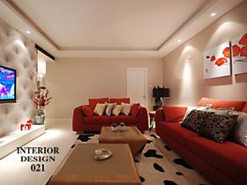 富有內涵的美 140平現代簡約婚房