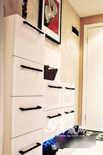 北欧风格鞋柜图片