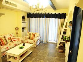 12万装修90平地中海浪漫温馨的家