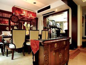 奢华中式魅力 90平古色古香中国风