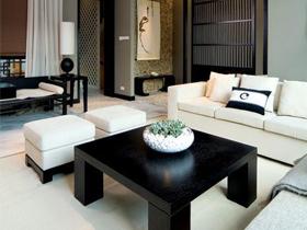 最新的禅房 90平经典新中式风格之家