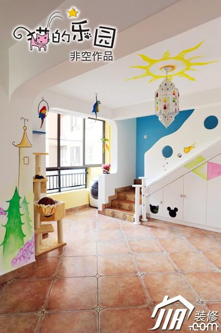 手绘墙装修效果图1