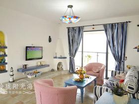65平一居室公寓裝修效果圖 現代流行風
