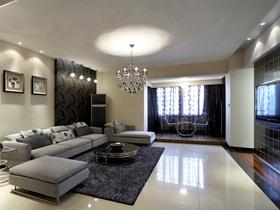 温馨豪华装饰 18万打造三房现代时尚家