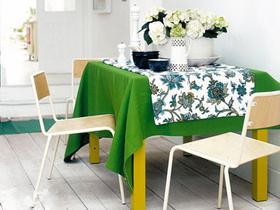 小户型的 15款个性小空间餐厅设计