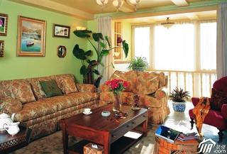 客厅装修效果图348