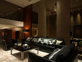 时尚感十足 黑色高贵公寓