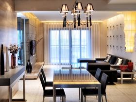 经典色构搭出现代时尚公寓