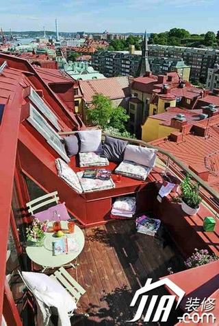 阳台装修效果图19