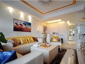 低调奢华 30万装修139平时尚优雅的家