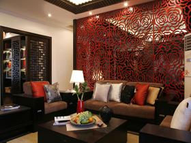 木雕牡丹花 135平別樣中式樣板房