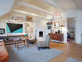 摩登藝術的家 150平裝瑞典閣樓公寓