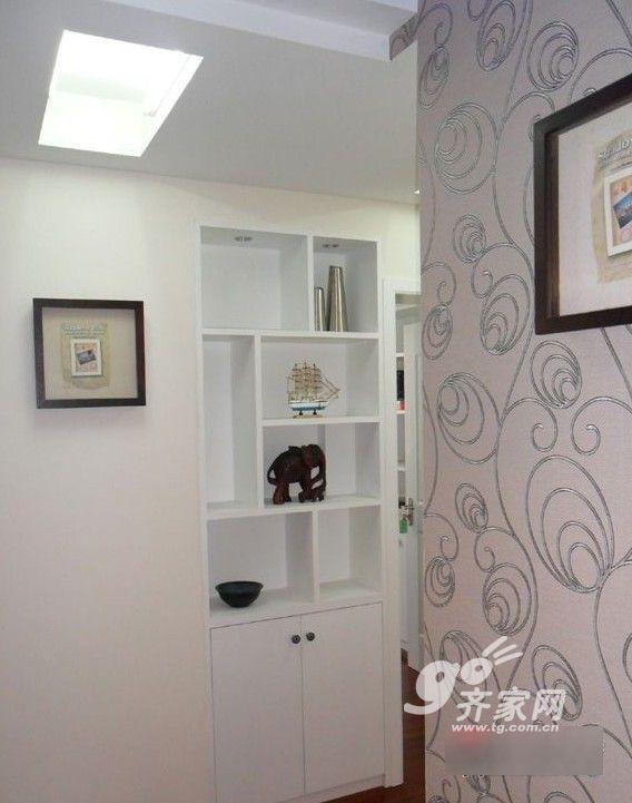 大家庭现代简约三室两厅 温馨102平黑白灰 中式高清图片